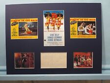 Singin' In The Rain - Gene Kelly & Debbie Reynolds & Donald O'Connor autograph
