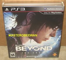 BEYOND TWO SOULS SPECIAL LIMITED EDITION PLAYSTATION 3 PS3 +STEELBOOK NEW SEALED