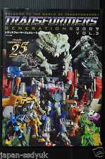 Transformers Generations 2009 vol.3 Photo data book