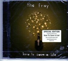 (EK274) The Fray, How To Save A Life - 2007 sealed Sp Ed CD