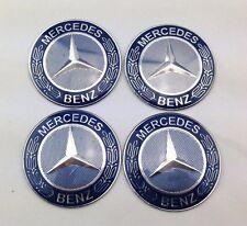 4pcs 65mm Car Wheel Center Hub Cap Stickers Emblem Auto parts Mercedes Benz