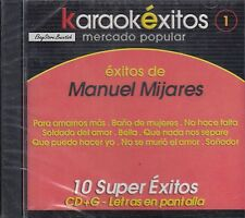 Manuel Mijares 10 Exitos Karaoke New Sealed