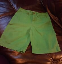 "POLO BY RALPH LAUREN BOYS COTTON SHORTS AGE 10 YEARS 24"" WAIST WORN ONCE"