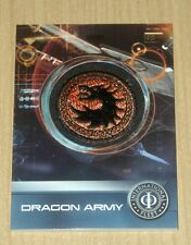 2014 Cryptozoic Ender's Game patch Dragon Army PC-01 1:144 packs