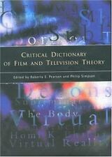 Critical Dictionary of Film and Television Theory-ExLibrary