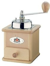 Zassenhaus Brasilia Manual Coffee Mill Grinder, Varnished Beech Made in Germany