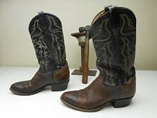 DISTRESSED BROWN TONY LAMA MADE IN USA COUNTRY WESTERN COWBOY RANCH BOOTS 9 D