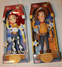 "Toy Story 16"" Talking Pull String WOODY & JESSIE from Roundup Gang!"