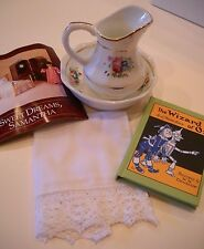 American Girl Doll SAMANTHA's NIGHTTIME NECESSITIES Pitcher/Basin Wizard of Oz