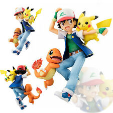 G.E.M. Series Pokemon Pikachu Ash Ketchum Charmander Figur Figure No Box