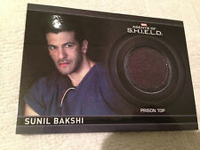 Agents of Shield Season 2 Costume Card CC16 Sunil Bakshi Prison Top 098/425