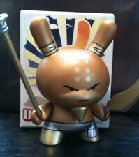 """DUNNY 3"""" SERIES 5 HUCK GEE GOLDEN TICKET GRANDFATHER GOLD CHASE KIDROBOT TOY"""