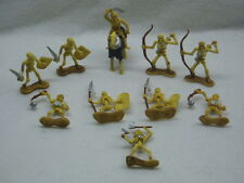 Lot of 11 Toy Major Tomb Warrior Skeleton, Horse Action Figures RPG HTF
