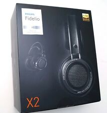 Philips X2 Fidelio Premium Headphones High fidelity sound Black Philips X2/27