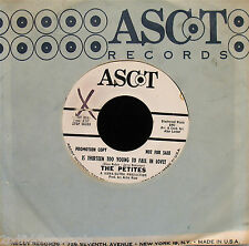 THE PETITES-Is 13 Too Young To Fall In Love-Rare Girl Group Soul 45-ASCOT #2166
