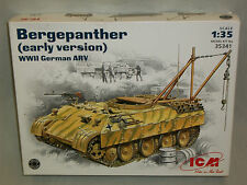 ICM 1/35 Scale Bergepanther (Early Version) WWII German ARV