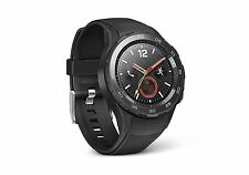 NEW Huawei Smart Watch 2 Carbon Black Model 55021796 for Android and iOS