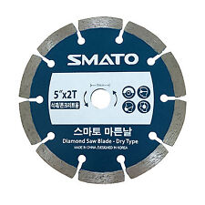 "5"" Diamond Saw Blade 2T Dry Wet Cutting Tools  for Concrete & Stone Cutting"