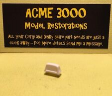 Dinky 282 Austin 1800 Taxi Reproduction Repro - White Plastic Roof Sign