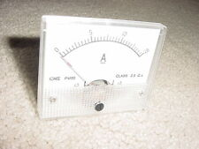 Analog Panel Meter 0-15 Amp DC with Shunt attached