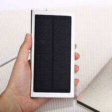 50000mah Portable External Battery Charger Solar Power Bank Pack For iPhone 5S 5