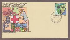 Australia PSE # 057 11th International Health Ed Conference FDC - I Combine S/H