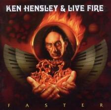 Hensley, Ken & Live Fire-faster * CD * NUOVO *