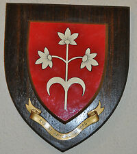 Large Rye St Antony School wall plaque shield crest coat of arms Independent