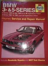 Haynes Manual BMW 3 & 5 Series