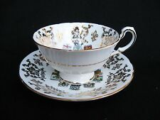 Paragon Tea Cup and Saucer - Fine Bone China - England - Canada Coats of Arms