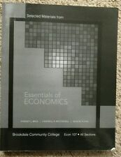 Essentials of Economics Brue Mcconnell Flynn Brookdale 2e Second Edition