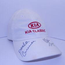 LPGA Kia Classic Autographed Hat Paula Creamer Alexis Thompson  R12984