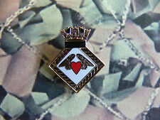 Royal Navy HMS ALACRITY Enamel Lapel Badge
