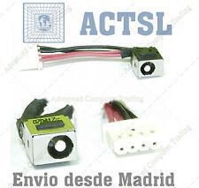 CONECTOR DC POWER JACK & Cable D39 para Fujitsu Siemens Lifebook S 7210