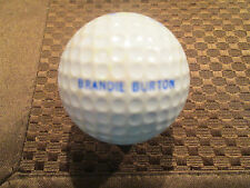 PING GOLF BALL-SOLID WHITE PING-USA FLAG..1992 SOLHEIM CUP-BRANDIE BURTON LOGO