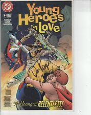 DC Young  Heroes In Love Autographed Signed Dan Raspler & Keith Champagne