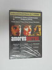 AMORES PERROS de Gonzalez Iñarritu DVD PRECINTADO Nuevo.