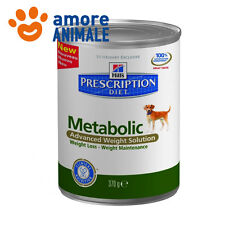 Hill's Metabolic Prescription Diet Canine 370 gr - Alimento umido per cane cani