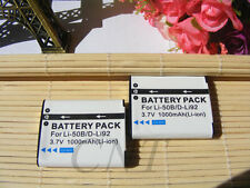2x Battery Pack for PENTAX D Li92 X70 Megazoom D L192