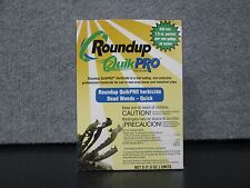 5 - 1.5oz. packs (1 Box) Round Up Quick Pro 73.3% active ingredient, glyphosate