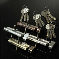 Home Safety Cylinder Thumb Turn Cylinder 70mm(35/35) Door Lock with 3 keys