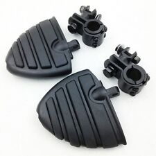 """Clamps 1"""" 1 1/4"""" Highway big WING Foot rest pegs For YAMAHA XV Virage Roadstar"""
