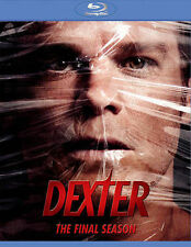 ✔Sealed Dexter: The Final Season (Blu-ray 4Disc Set) +RARE Collectible Digibook