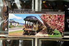 Panoramic 350 Piece Puzzle Mount Hood Scenic Railway Train River County Oregon