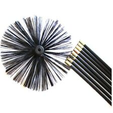 Chimney Cleaning Brush Sweep Sweeping Set Kit Drain Rods 400mm BRUSH