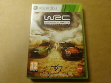 XBOX 360 GAME / WRC: FIA WORLD RALLY CHAMPIONSHIP