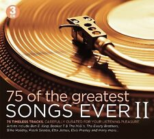 MORE OF GREATEST SONGS EVER -FRANK SINATRA/ELVIS PRESLEY/THE DRIFTERS/+ 3CD NEU