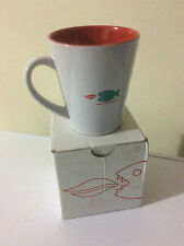 New Baumatic Electrical Appliance Ceramic Mug, White & Red, Piranha Fish Logo
