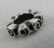 Authentic Pandora 925ALE Silver Roses Spacer Charm 790176