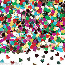 2 bags Wedding Party Multi Colour Hearts Heart Confetti Sprinkles